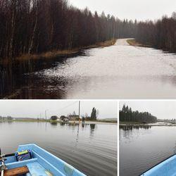 Lapissa on nyt lähes ennätystulvat – pahin on jo ohi, vaikka Rovaniemellä vesi nousee vielä