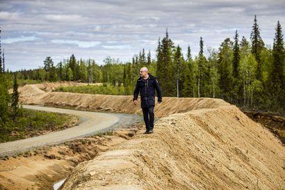 Purkuputki pelastaa Kittilän kaivoksen – Putken käyttöönottoon saakka jätevedet lasketaan kaivoksen vierestä virtaavaan Seurujokeen niin kun on tehty vuodesta 2010 alkaen