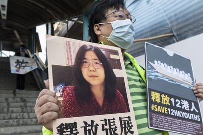Aggressiivista propagandaa koronasta julkaiseva Kiina tuomitsi koronasta raportoineen naisen vankeuteen – Kiina levittää valheita sisäisesti ja ulkomaille
