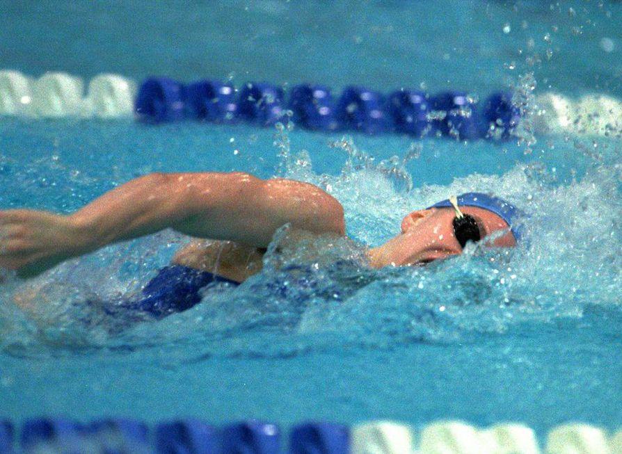 Minna Haipus (o.s. Salmela) oli 1990-luvulla Suomen nopein nainen vapaauinnissa. Hän osallistui kaksi kertaa olympialaisiin.