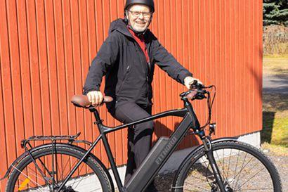 """Jari, 55, laihtui sähköpyöräilemällä 20 kg – """"Verenpaine ja veriarvot kuin rippikouluikäisellä"""""""