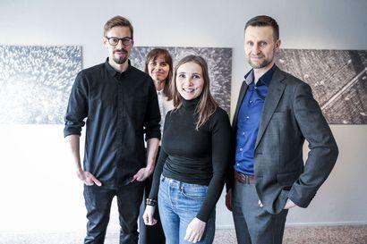 Tieto-Finlandia-ehdokas esittäytyy kirjaillassa
