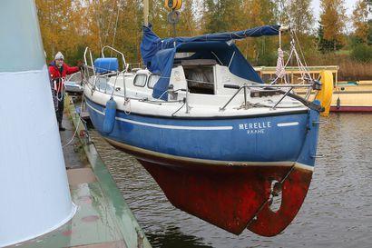 Purjeet alas ja veneet ylös - Raahessa kävi ennätyksellinen määrä vierasveneitä