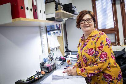 Eeva-Liisa Aula päättää keväällä pitkän työrupeaman Lapin Liikunnan palveluksessa - ensimmäinen työantaja oli Länsi-Pohjan piiri