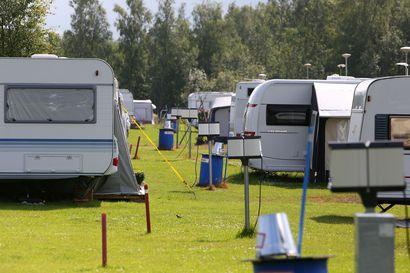 Lohenpyrstön karavaanareiden leirintä-alue laajenee etelän suuntaan