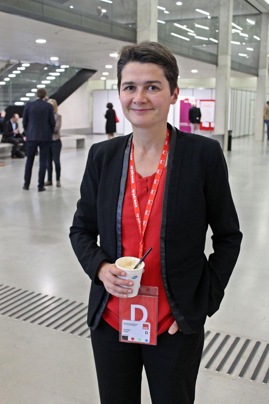 Daniela Kolbe.
