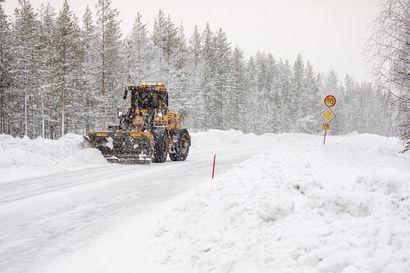 Vähiten sadetta Enontekiöllä ja kylmintä Sodankylässä –Talvi on ollut tavanomaista lämpimämpi