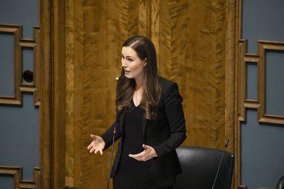 Pääministeri Marin: Ravintolatukia käsittelevä kokonaisuus eduskunnalle ensi viikolla