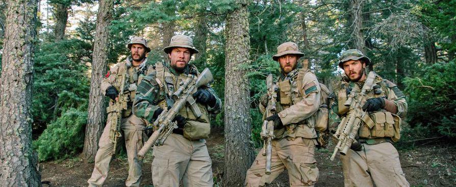 Amerikkalaiset sotilaat suorittavat huippusalaista tehtävää Afganistanin vuoristoissa.