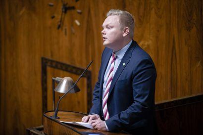 """Antti Kurvinen ei lähde mukaan keskustan puheenjohtajakisaan: """"Päätös oli kaikkea muuta kuin helppo"""""""
