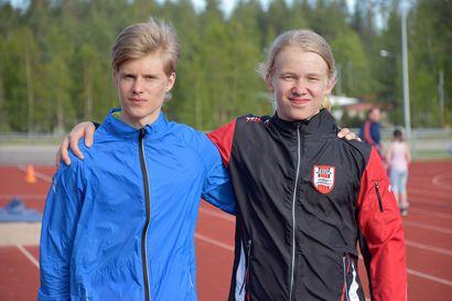 """Veikko ja Erno kisaavat maastojuoksussa Lempäälässä– """"Tavoitteenani on sijoittua kymmenen joukkoon"""""""