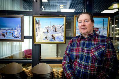 Martti Lehtelä palaa maalauksissaan kreivi Pietari Brahen aikaan