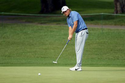 """Suomen golfmiehet harmittelivat menetettyjä tilaisuuksia: """"Pitää vain lyödä vähän lähemmäs ja saada putit sisään"""""""