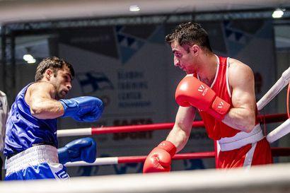 Kovan kolauksen finaali – Oulun Kehäkerhon Aydin Behruz koki mielestään vääryyttä nyrkkeilyn SM-kehässä