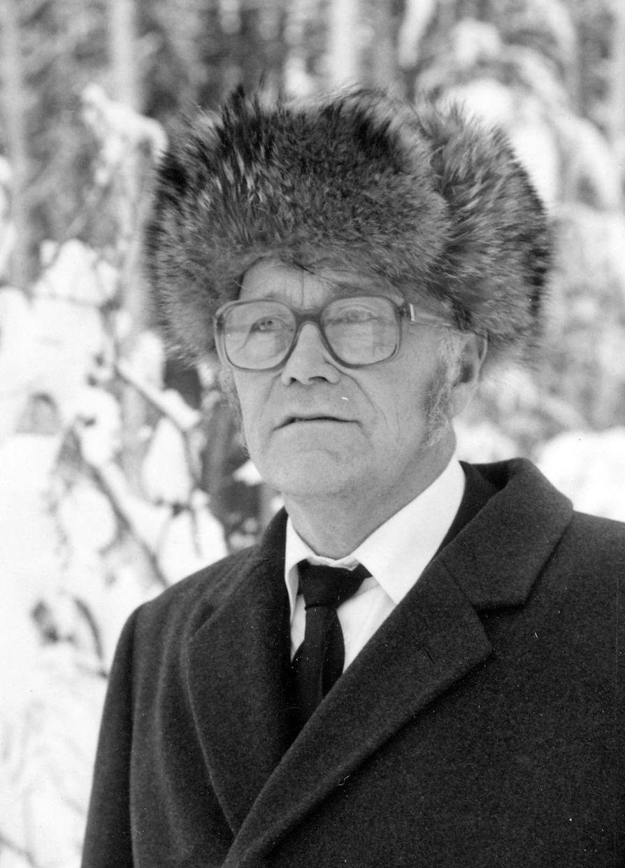 Eeli Lempinen kehitteli apunvälineitä perunatiloille.
