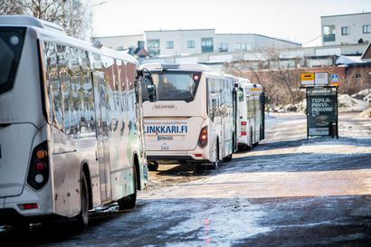 Linkkarin linjat palaavat maanantaina normaalireiteille Rovaniemellä