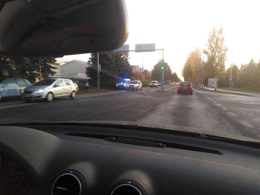Onnettomuus tapahtui noin kello 16.55 keskiviikkona.