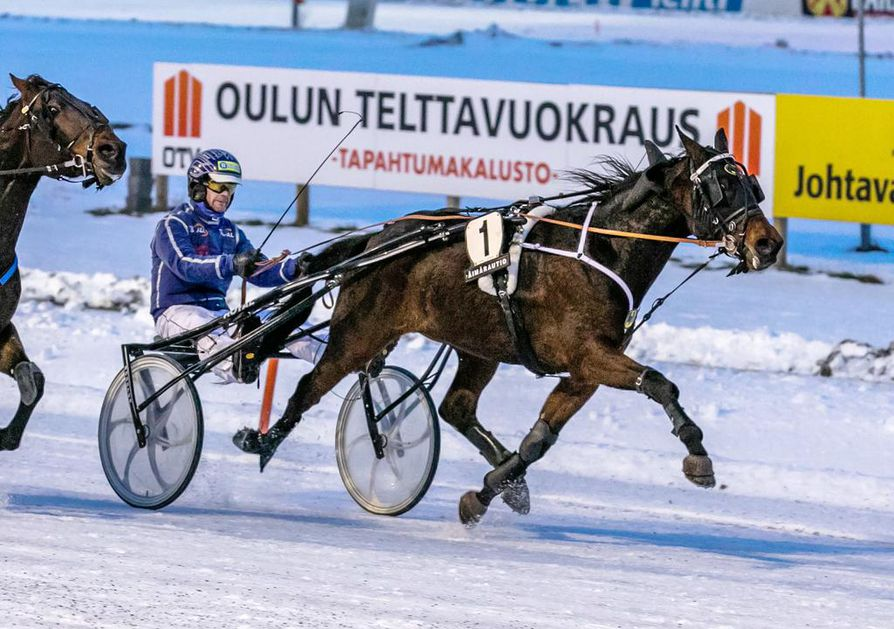 Juha Länsimäen ohjastama Twinquit porhalsi helpohkoon voittoon.