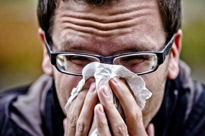 Raahessa havaittu yksittäisiä influenssatapauksia, mutta epidemiaksi asti niitä ei vielä ole