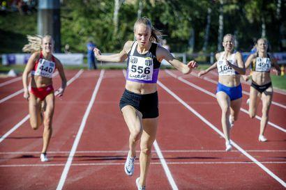 Mette Baas karkasi omaan vauhtiinsa ja mestaruuteen Kemin SM-kisoissa