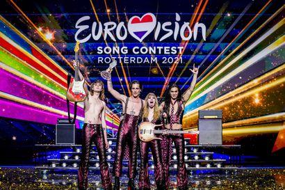 Analyysi: Poikkeuksellisen kiinnostavat Euroviisut muistuttivat suoran television voimasta – Blind Channel osoitti, että myös tummille sävyille on tilaa karnevaaleissa