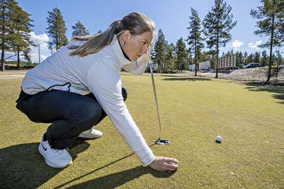 Kiira Riihijärvellä loistava aloitus maailman parhaiden golfamatöörien kutsukilpailussa Yhdysvalloissa – avauskierros keskeytyi huonon sään vuoksi