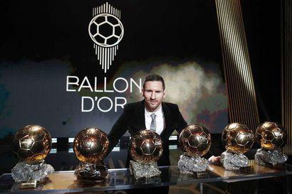Maailman parhaan pelaajan Kultainen pallo jätetään jakamatta koronan takia