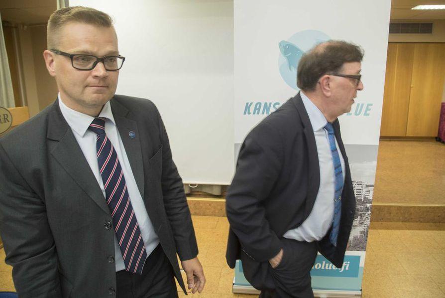 Sami Kilpeläinen toimi vielä viime vuonna sekä keskustassa että kansalaispuolueessa.