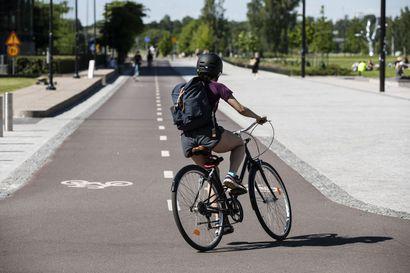 Kävellen ja pyörällä pitäisi kulkea satoja miljoonia matkoja nykyistä enemmän – nyt selvitetään parhaita tapoja lisätä kevyttä liikennettä