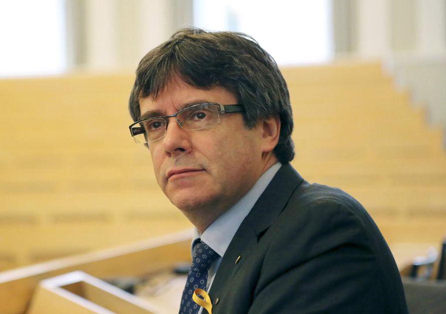 Carles Puigdemont oli Suomessa vierailulla muutama päivä sitten.