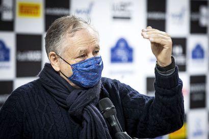 """Autourheiluliiton pomo Jean Todt: """"Haluamme ajaa talvirallin lumella"""""""
