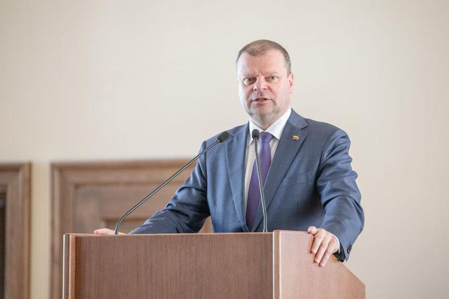 Istuva pääministeri Saulius Skvernelis jäi Liettuan presidentinvaaleissa kolmanneksi.