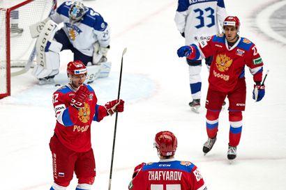 Venäjä oli liian vahva Leijonille EHT-avauksessa