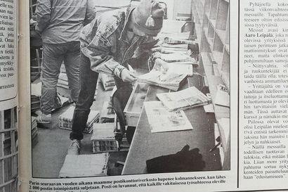Vuosien takaa: Muistatko, milloin Raahessa oli 8 vielä postikonttoria?