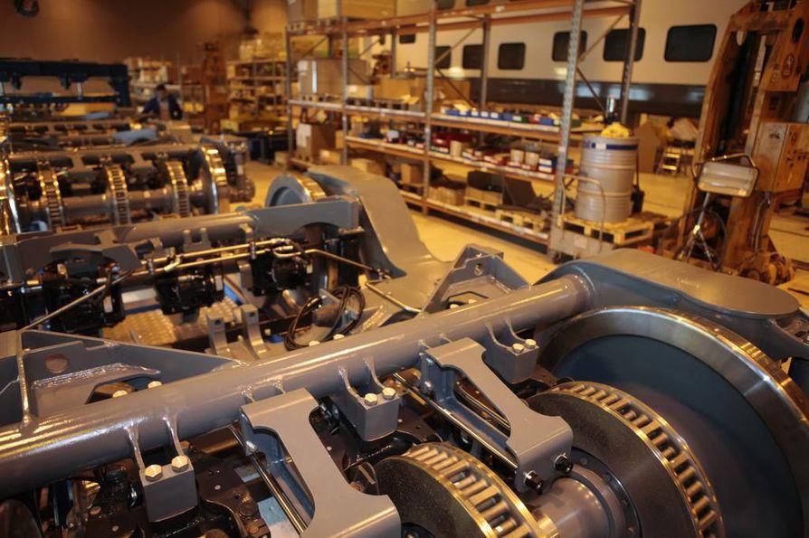 Transtechilla on tehdas Otamäellä.