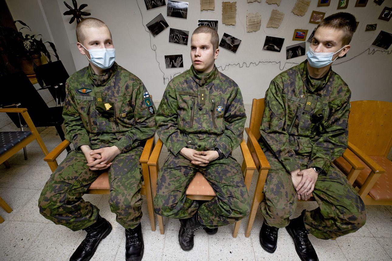 Raahelaiset varusmiehet kutsunnoissa: Armeijasta voi tykätä