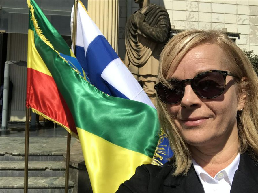 Toimittajamme Etiopiassa on Lännen Median uutispäällikkö Marjo Oikarinen.