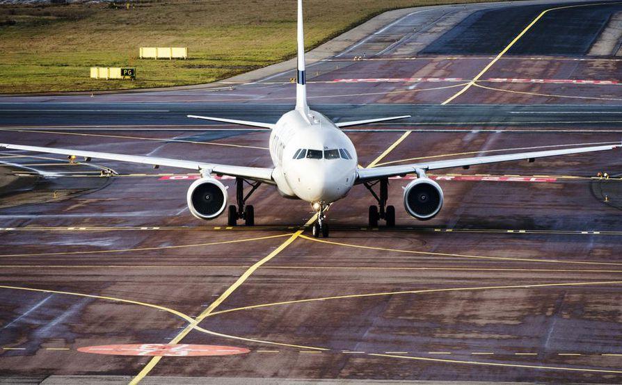 Finnair ilmoittaa peruvansa Pekingin Daxingin lentoasemalle sekä Nanjingiin suuntaavat lentonsa maaliskuun loppuun asti. Arkistokuva.