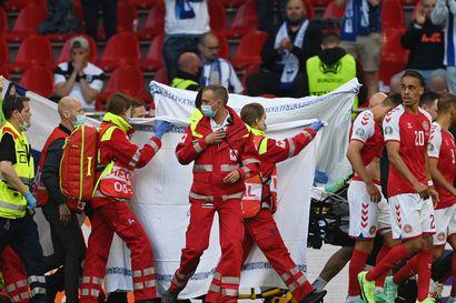 Tanskan maajoukkueen lääkäri: Kentälle lyyhistynyt Christian Eriksen sai sydänkohtauksen, mutta sen syy on epäselvä