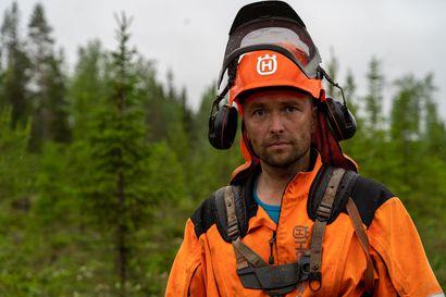 Metsäalan ammattilaiset kertovat työstään ja luontosuhteestaan – videoita kuvataan Koillismaalla