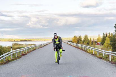 Randonneur-pyöräilijät polkevat Helsingistä Jäämerelle – Aikaraja noin 2 000 kilometrin matkalle on kahdeksan päivää, viisi tuntia ja yksi minuutti.