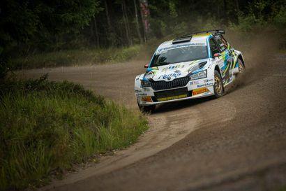 Rallin Suomen mestaruudet ratkaistaan Pohjanmaan rallissa