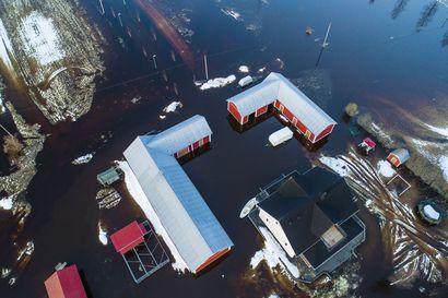 Ei rahaa valtion budjetissa: Pyhäjoella ei tehdä tulvan torjuntatöitä tänäkään vuonna