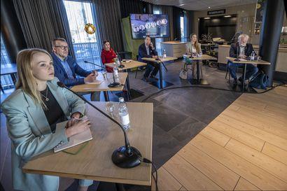Oulu tarvitsee vetovoimaa ja vau-ilmiön aseman seudulle – kunnallisvaaliehdokkaat eivät haluaisi lähteä veronkorotusten tielle