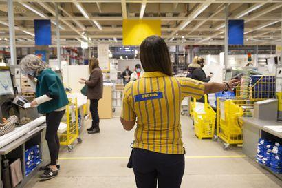 Postin ja Ikean yhteistyö laajenee entistä isompiin tavaroihin – jatkossa myös Posti kuskaa asiakkaille esimerkiksi jääkaappeja tai sohvia