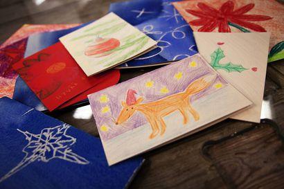 Rovaniemellä muistetaan ikäihmisiä korteilla ja kirjeillä