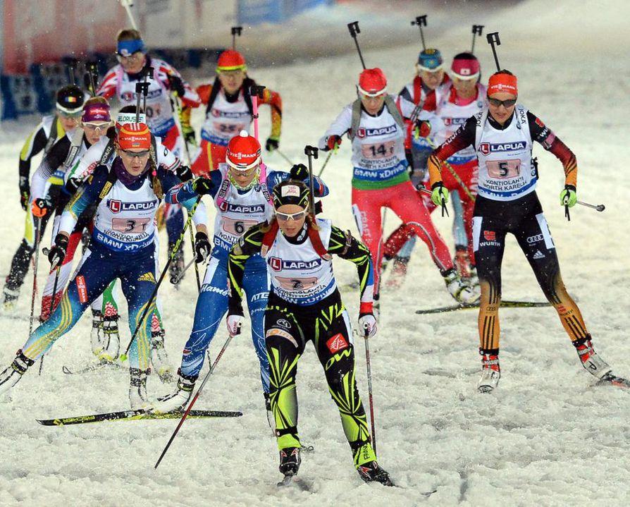 Ampumahiihdon MM-kisat järjestetään tänä vuonna Kontiolahdella Itä-Suomessa.