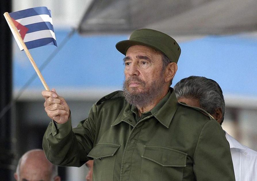 Fidel Castro vuonna 2005.