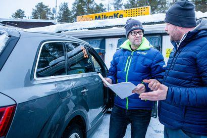 Jussi Tepolla meni uusiksi auto, kartturi ja SM-luokka