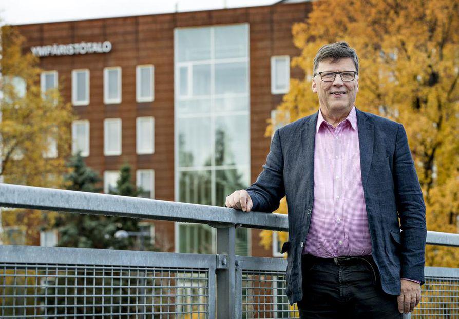 Oulun Kaupunginarkkitehti Jari Heikkilä jää eläkkeelle.